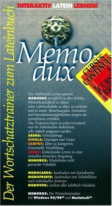 Memodux. Cursus Continuus A/ B. Cursus Brevis. CD- ROM für Windows 95/98/ MacOS ab 7.6.