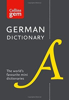 Gem German Dictionary (Collins Gem)
