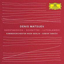 Shostakovich-Schnittke-Lutoslawski
