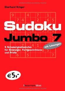 Sudokujumbo 7: 5 Schwierigkeitsstufen - für Einsteiger, Fortgeschrittene und Profis