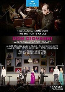 Mozart: Don Giovanni [Nikolaus Harnoncourt; Theater an der Wien, 2014] [2 DVDs]
