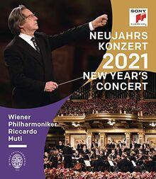Neujahrskonzert 2021 / New Year's Concert 2021 - Riccardo Muti [Blu-ray]