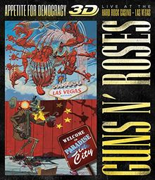 Appetite For Democracy: Live At The Hard Rock Casino - Las Vegas (BluRay) [3D Blu-ray]
