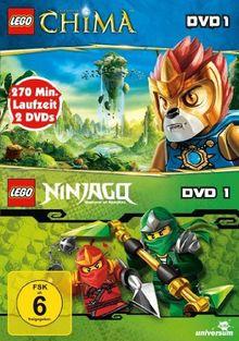 Lego: Legends of Chima, DVD 1 / Lego Ninjago, DVD 1