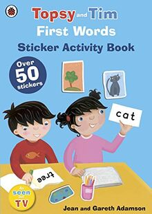 First Words: A Ladybird Topsy and Tim sticker book