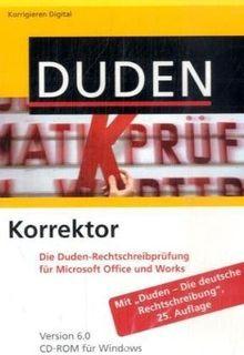 Duden Korrektor 6.0. Windows Vista; XP; 2000