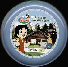 Heidi, Deine Welt sind die Berge, 1 CD-ROM in Schmuck-Dose Dtsch.-Engl.-Französ. Ausgezeichnet mit dem Software-Preis Giga-Maus 2004. Für Windows 98/ME/2000/XP und MacOS X: OS 10.1.2