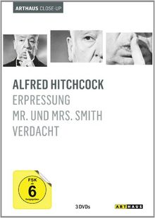 Alfred Hitchcock - Arthaus Close-Up [3 DVDs]