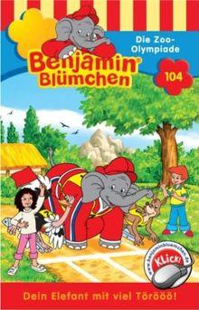 Benjamin Blümchen 104. Die Zoo-Olympiade. Cassette [Musikkassette]