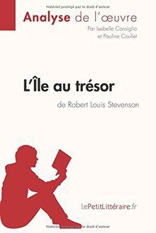 L'Île au trésor de Robert Louis Stevenson (Analyse de l'oeuvre): Comprendre la littérature avec lePetitLittéraire.fr