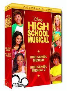 High School Musical : Premiers pas sur scène - Remix + High School Musical 2 (Version longue inédite) - Coffret 2 DVD