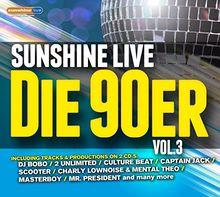 Sunshine Live-Die 90er Vol.3