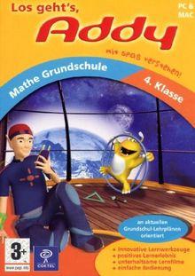Addy Mathe Grundschule 4. Klasse (PC+MAC)