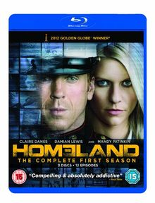 Homeland - Season 1 [Blu-ray] [3 Blu-rays] [UK Import] [2 DVDs]
