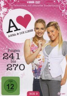 Anna und die Liebe - Box 09, Folgen 241-270 [4 DVDs]