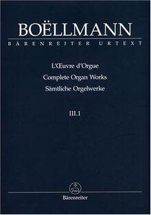 Samtliche Orgelwerke Ii/1 - Organ Book