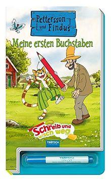 """Schreib und wisch weg """"Pettersson & Findus"""": Buchstaben"""