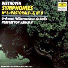 """Symphonien Nr. 6 """"Pastorale"""" & Nr. 8"""