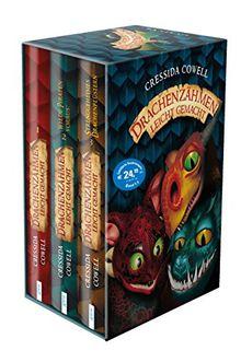 Drachenzähmen leicht gemacht: 3 Bände im Schuber: Drachenzähmen leicht gemacht (1). Wilde Piraten voraus! (2) Strenggeheimes Drachenflüstern (3).