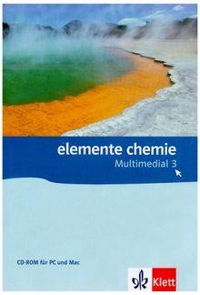 Elemente Chemie Multimedial 3. 7./8. Klasse. Einzellizenz CD-ROM für Windows Vista/XP/2000 oder Mac ab OS X 10.3