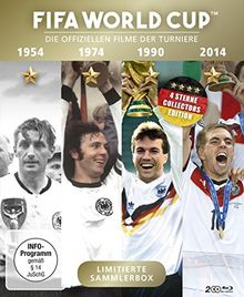 FIFA WORLD CUP 54 * 74 * 90 * 14 - Die offiziellen Filme der Turniere + Bonusfilm Match 64 (Highlights des WM-Finales 2014) [Blu-ray]