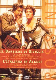 Rossini, Gioacchino - Il barbiere di Siviglia / L'Italiana in Algeri [2 DVDs]