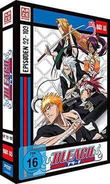 Bleach TV-Serie - Box 5 (Episoden 92-109) [3 DVDs]