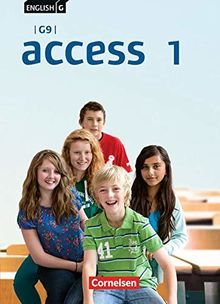 English G Access - G9 - Ausgabe 2019: Band 1: 5. Schuljahr - Schülerbuch: Festeinband