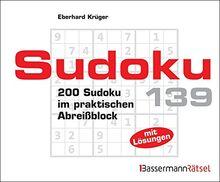 Sudoku Block 139: 200 Sudoku im praktischen Abreißblock