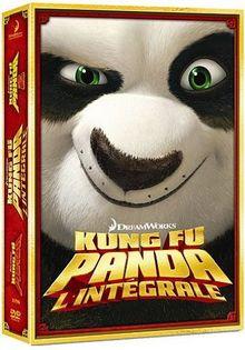 Coffret kung fu panda : kung fu panda 1 ; kung fu panda 2 [FR Import]