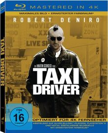 Taxi Driver (4K Mastered) [Blu-ray]