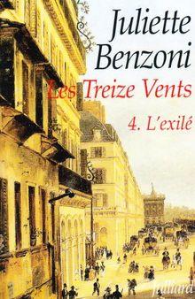Les Treize Vents, Tome 4 : L'exilé (Litterature Fra)