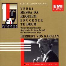 Requiem / Te Deum (Salzburg Festival Edition Live 21.8.1958)