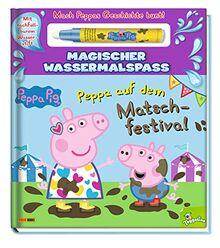 Peppa Pig: Peppa auf dem Matschfestival - Magischer Wassermalspaß: mit nachfüllbarem Wasserstift