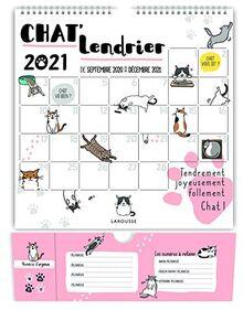 Chat'lendrier 2021 (LA.CALENDRIER)