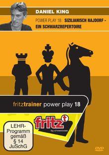 Daniel King: Powerplay 18 - Sizilianisch Najdorf - Ein Schwarzrepertoire