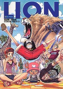 One Piece Color Walk 3 LION - Artbook