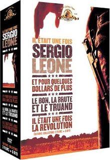 Coffret Sergio Leone 6 DVD : Le bon, la brute et le truand (Collector 2 DVD) / Et pour quelques dollars de plus (Collector 2 DVD) / Il était une fois la révolution (Collector 2 DVD)