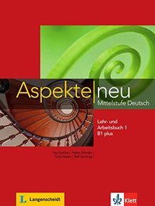 Aspekte neu B1plus: Mittelstufe Deutsch. Lehr- und Arbeitsbuch mit Audio-CD, Teil 2