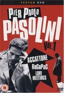 Pier Paolo Pasolini Vol. 1 - Box Set [3 DVDs] [UK Import]