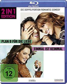 Plan B für die Liebe/Einmal ist keinmal - 2 in 1 Edition [Blu-ray]