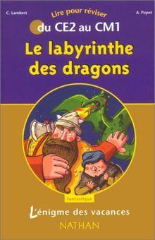 Le labyrinthe des dragons : Du CE2 au CM1 (L'Enigme des Va)