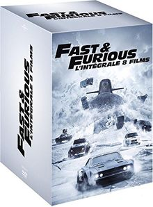 Coffret fast and furious 8 films [FR Import]
