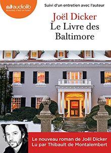 Le livre des Baltimore, Audio-CD