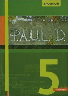 P.A.U.L.D. - Persönliches Arbeits- und Lesebuch Deutsch. Für Gymnasien und Gesamtschulen: Arbeitsheft 5