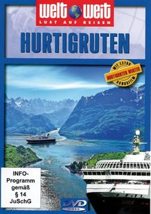 "Hurtigruten (Reihe: welt weit) mit Bonusfilm ""Hurtigruten Winter"" Länge: ca. 80 Min."