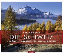 Die Schweiz -Schönste Landschaften und Ansichten 2020 55x46cm