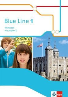 Blue Line / Workbook mit Audio-CD: Ausgabe 2014