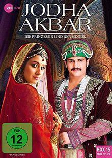 Jodha Akbar - Die Prinzessin und der Mogul (Box 15) (Folge 197-210) [3 DVDs]