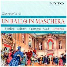 Ballo in Maschera: Björling-Milanov-Cast